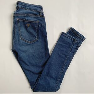 Guess Curve X mid rise skinny jeans